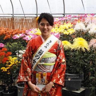女子,人物,着物,笑顔,日本,ポートレート,フィルム,camera,ニコン,フィルム写真,菊,photo,女王,フィルムフォト,snap mart