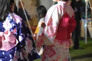 夏祭りの浴衣女子🧚♀️の写真・画像素材[2448747]