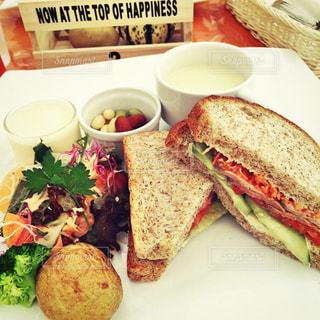 青空レストラン モーニングセット🌭の写真・画像素材[2489917]