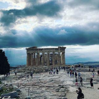 風景,空,建物,旅行,ギリシャ,アテネ,海外旅行,神秘,クラウド,パルテノン神殿