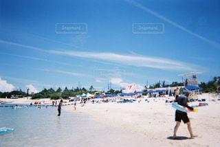 海,夏,青,水着,沖縄,旅行,フィルム,シュノーケリング,シュノーケル,自然光,写ルンです,フィルム写真,フィルムフォト