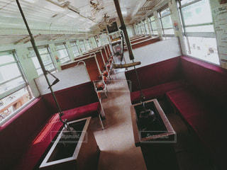 電車,車内,レトロ,フィルム,懐かしい,フィルム写真,フィルムフォト
