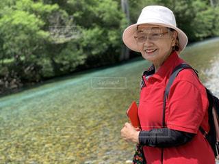 おばあちゃんの笑顔の写真・画像素材[2451787]