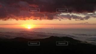 空,太陽,光,雲海,日の出