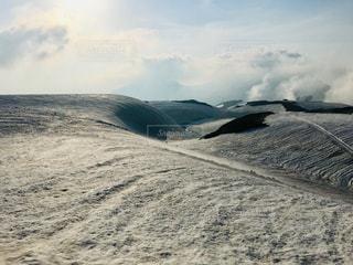 雲と雪の写真・画像素材[2441017]
