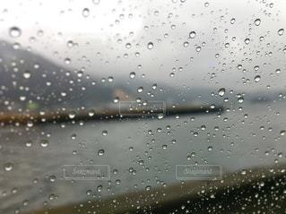 雨の港町の写真・画像素材[2486397]