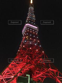 水玉東京タワーの写真・画像素材[2490748]