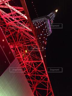 水玉東京タワーの写真・画像素材[2492759]