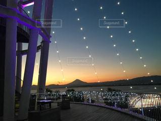 水玉と富士山の写真・画像素材[2493431]