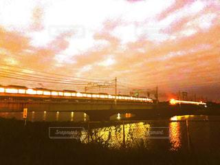 空,橋,夕方,土手,フィルム,下町,フィルム写真,フィルムフォト
