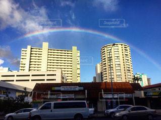 Rainbow , Hawaiiの写真・画像素材[2508161]