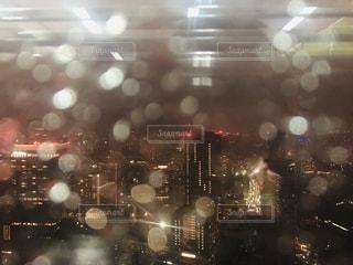 都市のぼやけた写真の写真・画像素材[2781567]