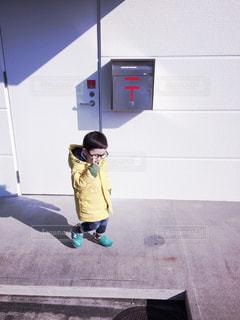 屋外,子供,オシャレ,明るい,フィルム,男の子,フィルム写真,メガネ,フィルタ,フィルムフォト