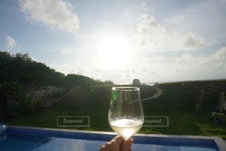 夏,ビーチ,プール,旅行,グラス,乾杯,リゾート,ドリンク,シャンパン