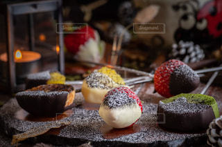 チョコレートフォンデュの写真・画像素材[2929936]
