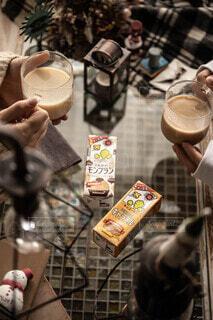 カフェ,読書,ティータイム,おうちカフェ,ドリンク,おやつタイム,ホッ豆乳,キッコーマン豆乳,豆乳飲料モンブラン,豆乳飲料キャラメル