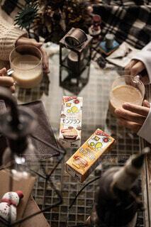 ホッ豆乳の写真・画像素材[3796305]