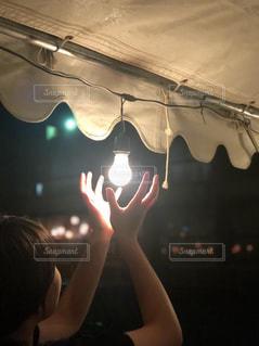 女の子,灯り,フィルム,夏祭り,フィルム写真,フィルムフォト,待ちわび