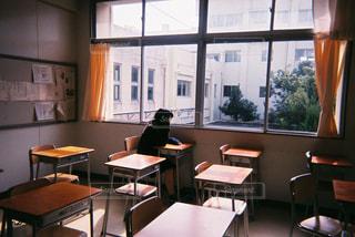 放課後の教室の写真・画像素材[2441816]