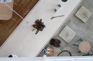 インテリア,植物,フラワー,ドライフラワー,デザイン,玄関,土間
