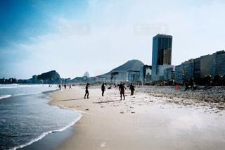海,ビーチ,フィルム,コパカバーナ,フィルム写真,ブラジル,フィルムフォト
