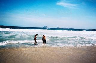 海,夏,カップル,フィルム,男女,フィルム写真,ブラジル,フィルムフォト