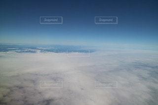 雲のじゅうたんの写真・画像素材[2443838]