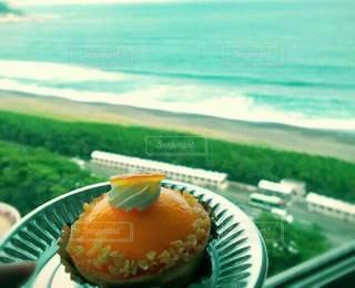 オレンジケーキの写真・画像素材[3557859]