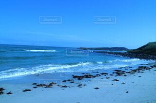 海の隣の砂浜の写真・画像素材[3557902]