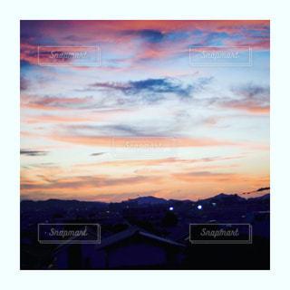 夕焼け空の写真・画像素材[2446925]