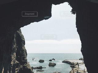 自然,海,屋外,ビーチ,島,水面,江ノ島,フィルム,フィルム写真,フィルムフォト