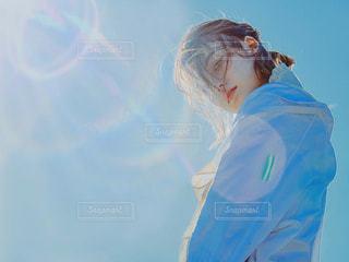 女性,風景,空,屋外,フィルム,フィルム写真,フィルムフォト