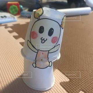 おもちゃ,書類,紙コップ,工作,手作り,息子,ほのぼの,紙工作,母と子,紙,お絵かき,図工,NHK,データ,うーたん,いないないばぁ