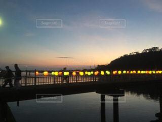祭りの夕暮れの写真・画像素材[955918]