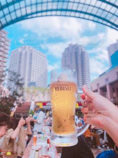 雲,グラス,ビール,幸せ,恵比寿,乾杯,ドリンク,ビアフェスタ