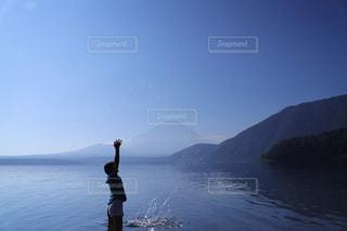 自然,空,湖,水,人,フィルム,フィルム写真,フィルムフォト