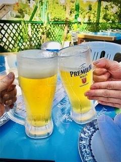 夏,グラス,ビール,乾杯,ドリンク,女子会,ジョッキ,生ビール,カンパイ