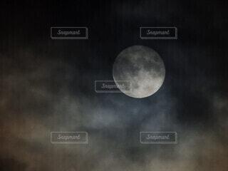 自然,風景,空,月,満月