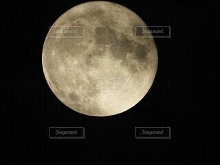 空,月,満月
