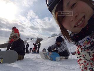 女性,友だち,5人以上,アウトドア,スポーツ,雪,屋外,人物,人,スキー,スノボ,ゲレンデ,レジャー,スキー場,スノーボード