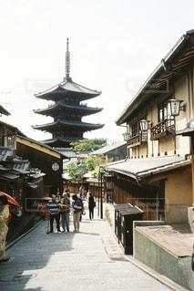 街並み,京都,日常,日本,フィルム,寺,古都,町屋,フィルム写真,二寧坂,フィルムフォト