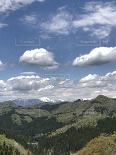 空に雲の群しをするの写真・画像素材[2453951]