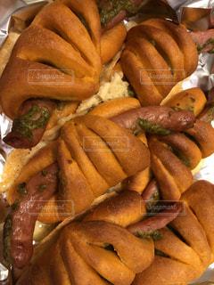 食べ物,パン,料理,調理,ソーセージ,焼きたて,ジェノベーゼ