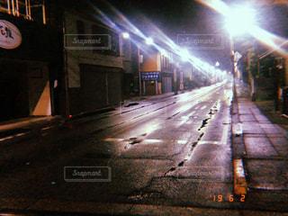 夜,道路,ライト,道,フィルム,夜中,フィルム写真,街頭,フィルムフォト