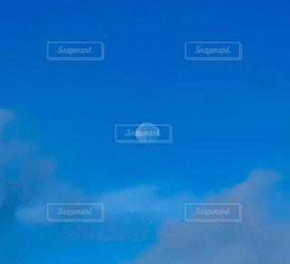 自然,風景,空,月,朝空,青空に月,朝のウォーキング
