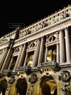 大きな石造りの建物の写真・画像素材[2716689]