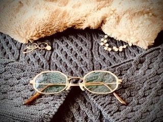 ファッション,冬,アクセサリー,眼鏡,コーディネート,メガネ,メガネコーデ,ファッションアイテム,金縁,メガネフォト,八角形メガネ