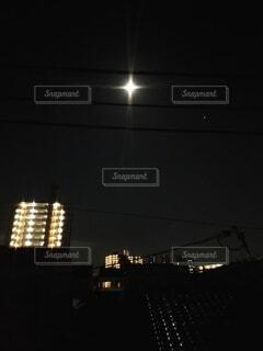 自然,風景,空,屋外,月,明るい,#夜,#神秘的,十字