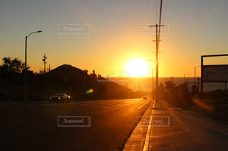 空,海外,太陽,夕暮れ,光,ロサンゼルス,サンセット,一人旅