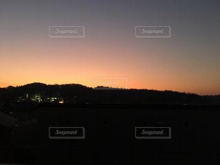 空,太陽,夕暮れ,光